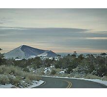 Winter Roadway Photographic Print