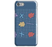 mutant ninja pattern iPhone Case/Skin