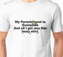 My Parents Went to Sunnydale Parody version 2 Unisex T-Shirt