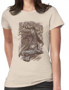 Adventure Cruises Parody Womens Fitted T-Shirt