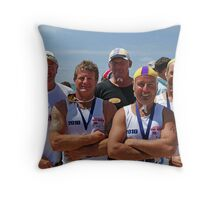 Port Fairy at Lorne (02) Throw Pillow