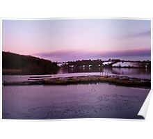 Another Thornton Reservoir Sunset Poster