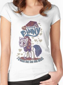 My Little Pinny Parody Women's Fitted Scoop T-Shirt