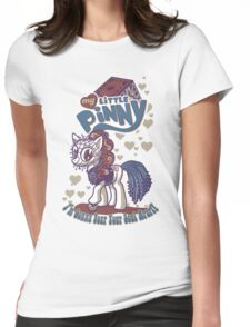 My Little Pinny Parody Womens Fitted T-Shirt