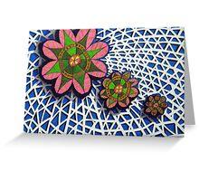 292 - FLORAL DESIGN - 08 - DAVE EDWARDS - INKS - 2010 Greeting Card