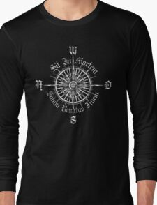 "PC Gamer's Compass - ""Death is Only the End of the Game"" Long Sleeve T-Shirt"