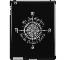"PC Gamer's Compass - ""Death is Only the End of the Game"" iPad Case/Skin"