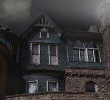 Rainy Night House by RC deWinter