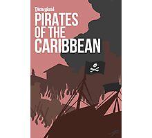Disney Pirates of the Caribbean Photographic Print