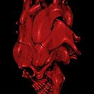 Skull of Heart by carbine