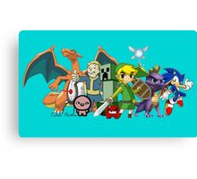 Characters  Canvas Print
