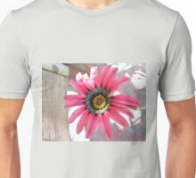 Magenta, Pink, and Peach Unisex T-Shirt