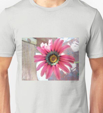 Magenta, Pink, and Peach Unisex T-Shirt