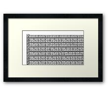 Park Hill Slab Framed Print