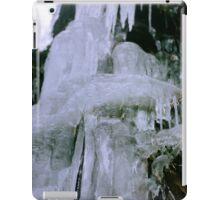 Icicles, brrrrrrr! iPad Case/Skin