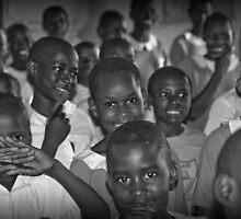 Kampala Schoolroom 2 by Peter Maeck