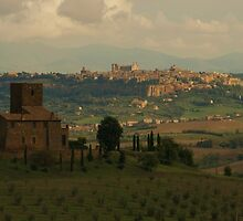 """The Hills of Orvieto"" by frogwithwings"