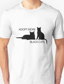 Adopt More Black Cats T-Shirt