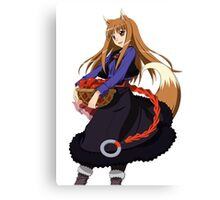 Holo - Spice and Wolf Canvas Print