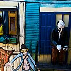Wall art by Miron Abramovici