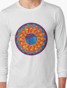 Yoga mandala 1 Long Sleeve T-Shirt