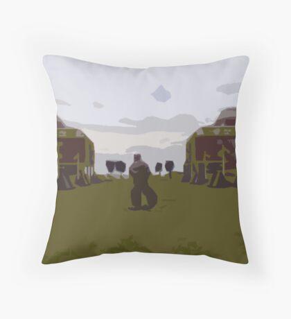 Gunwharf Cut-Out Throw Pillow