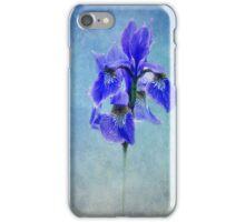 blue Iris iPhone Case/Skin