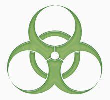biohazard - organic, bio, hazardous, contaminated, environmentally T-Shirt