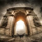 Arc of Light by thephotosnapper