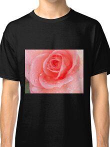 Peach Rose Blossom Classic T-Shirt