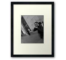 The Trendy Traveler / Man of New York Framed Print