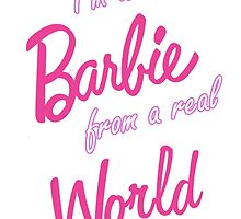 Real Barbie by berabbit
