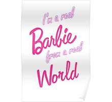 Real Barbie Poster