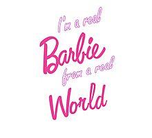 Real Barbie Photographic Print