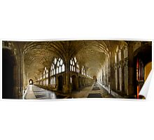 Gloucester Cathedral Panorama Poster