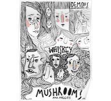 mushroomsandmaggots Poster