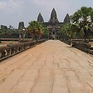 The Temple of Ankhor Wat by Mark Poulton
