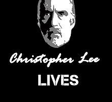 Christopher Lee Lives by berabbit