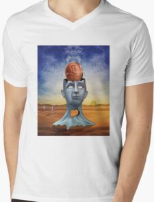 A Penny for Your Thoughts Mens V-Neck T-Shirt
