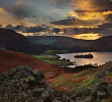 Early Morning Sun, Grasmere, Cumbria by David Lewins
