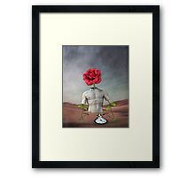 Time Slips Away, Pain Fades and Hope Blooms Framed Print