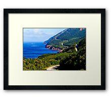 Cabot Trail Nova Scotia Framed Print