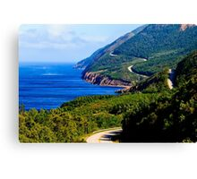 Cabot Trail Nova Scotia Canvas Print