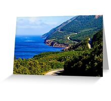 Cabot Trail Nova Scotia Greeting Card