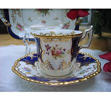 My Favorite Cup and Saucer Photographic Print