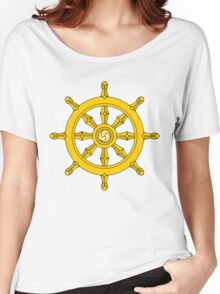 Dharma Wheel Women's Relaxed Fit T-Shirt