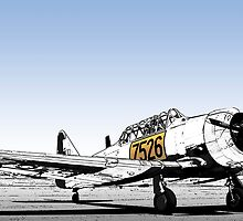 N. American AT-6C Harvard Mk 3 - 7526 by RatManDude
