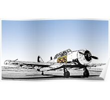 N. American AT-6C Harvard Mk 3 - 7526 Poster