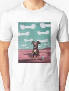 Visions of Dogbones Danced in Her Head Unisex T-Shirt