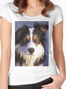 Portrait of Laddie Women's Fitted Scoop T-Shirt